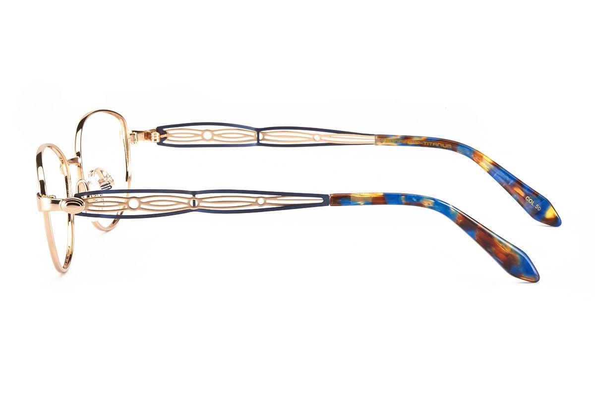 严选高质感钛镜框 FSA8556-GO3