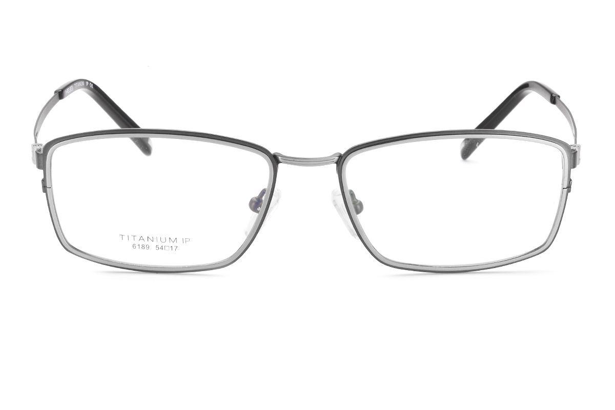 严选高质感纯钛眼镜 6189-GU2