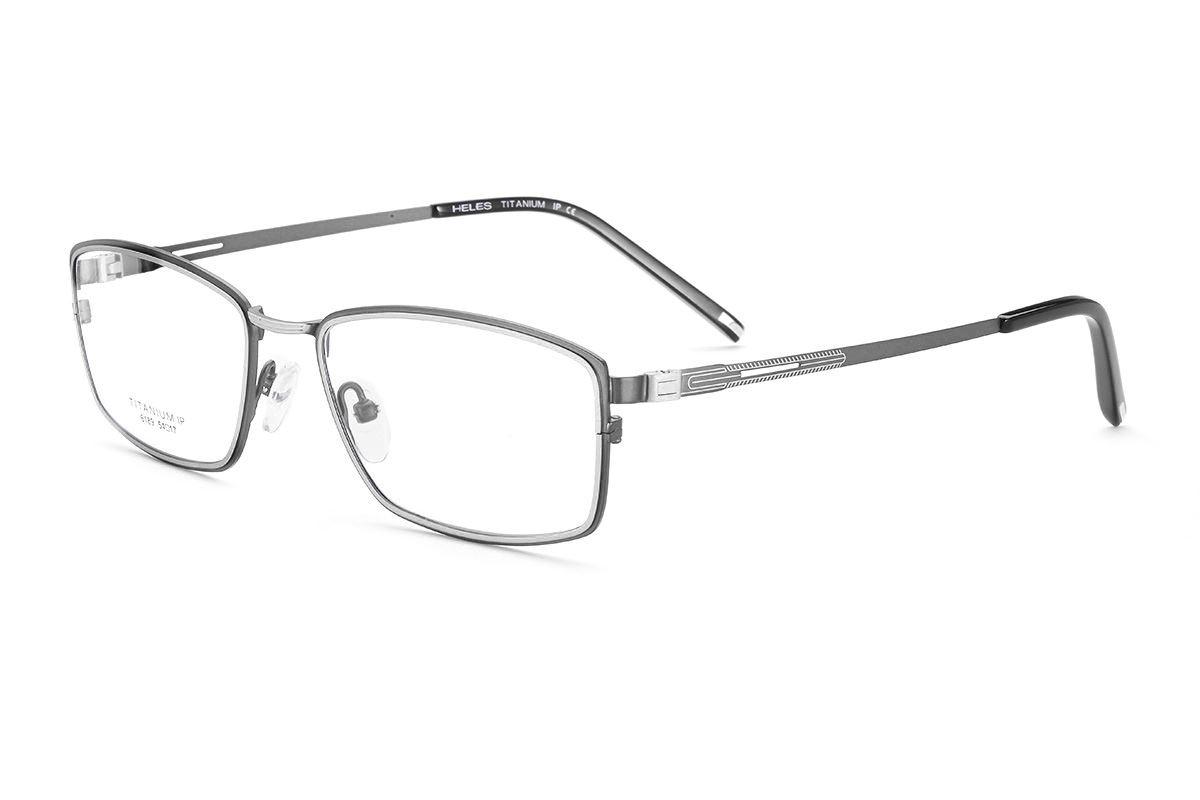 严选高质感纯钛眼镜 6189-GU1