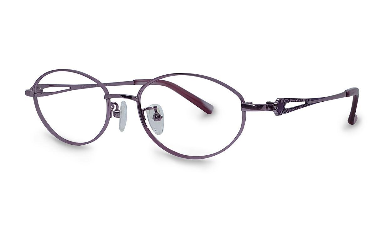 高质感纯钛淑女框 9052-C51