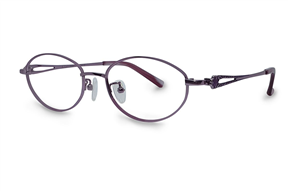 眼鏡鏡框-高質感純鈦淑女框 9052-C5