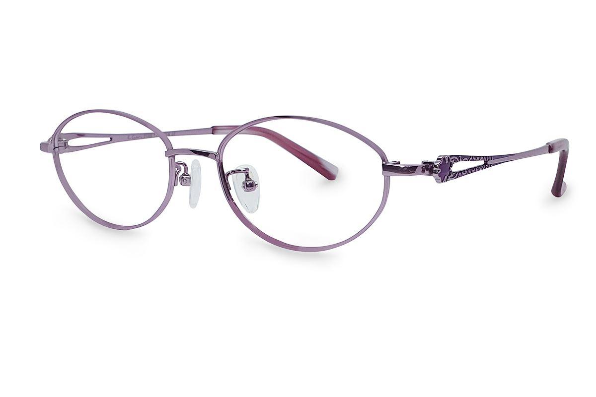 高质感纯钛淑女框 9052-C71
