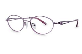 眼鏡鏡框-高質感純鈦淑女框 9052-C7