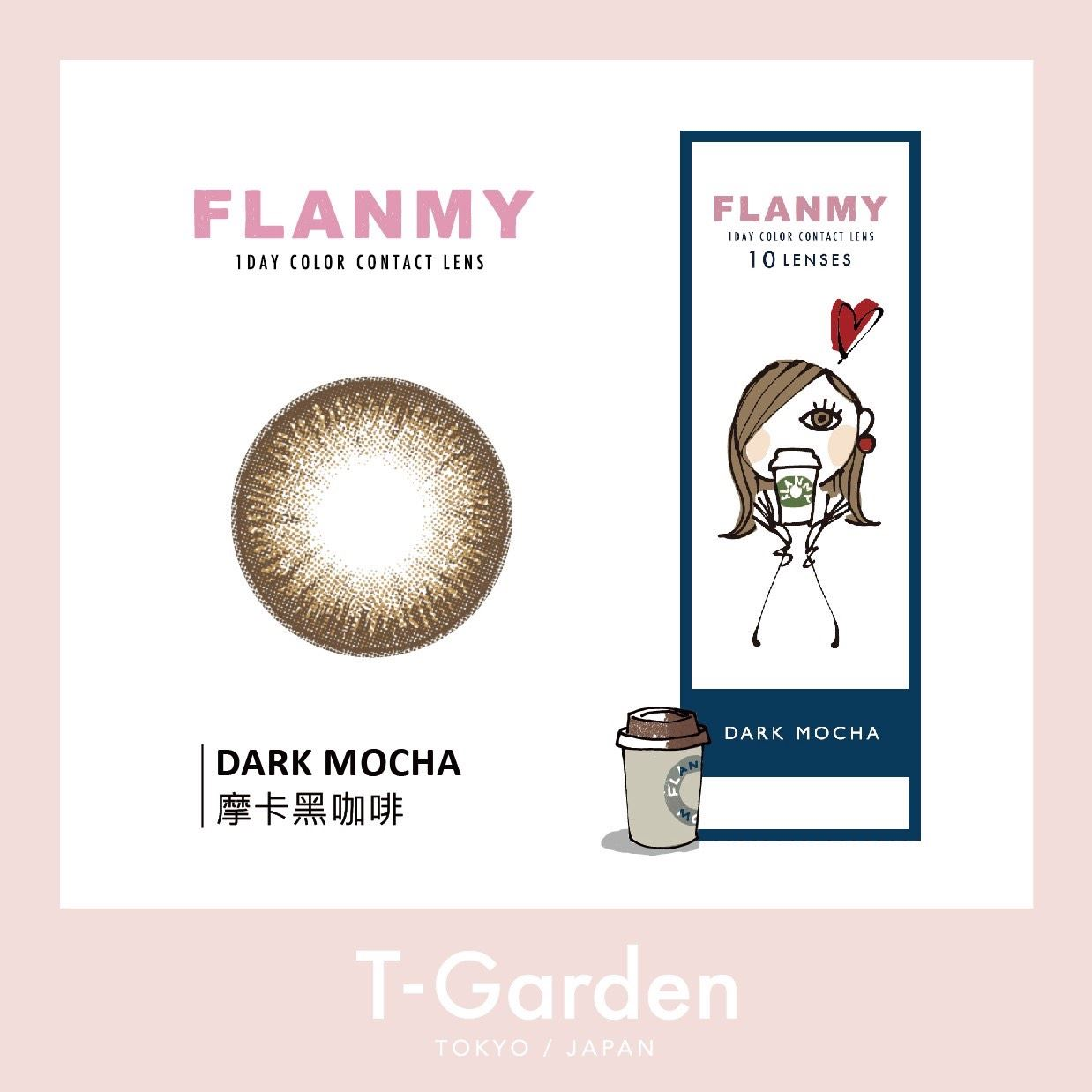 晶碩FLANMY彩色日拋 (10片裝)4
