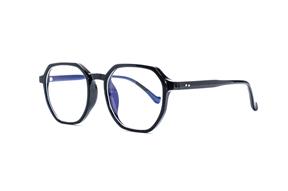 眼镜镜框-方形胶框抗蓝光眼镜 8399-C1
