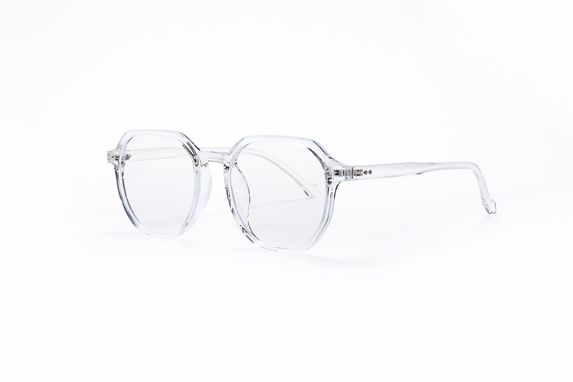 方形胶框抗蓝光眼镜 8399-C51