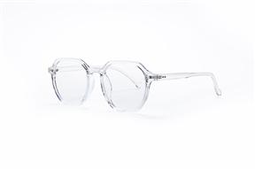 眼镜镜框-方形胶框抗蓝光眼镜 8399-C5