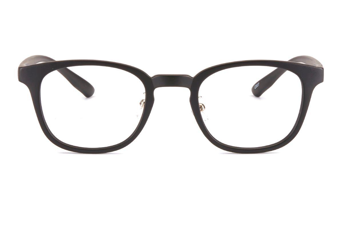 严选质感复古眼镜 1579-BA2