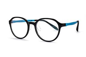 眼镜镜框-儿童抗蓝光眼镜含无度数镜片 9811-C1