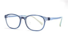 眼镜镜框-儿童抗蓝光眼镜含无度数镜片 9811-C5