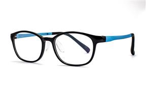 眼镜镜框-儿童抗蓝光眼镜含无度数镜片 9816-C2