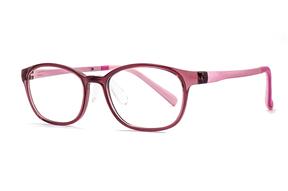 眼镜镜框-儿童抗蓝光眼镜含无度数镜片 9816-C6