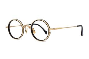 眼鏡鏡框-嚴選高質感鈦鏡框  S3073-C1