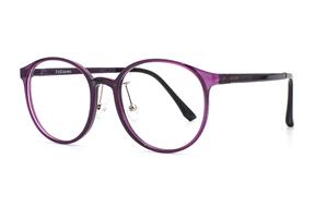 眼鏡鏡框-嚴選質感塑鋼眼鏡 9607-C5