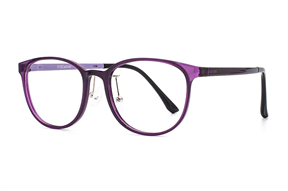 眼鏡鏡框-嚴選質感塑鋼眼鏡 9608-C5