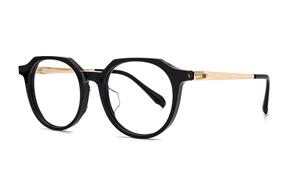 眼鏡鏡框-稜角鈦複合式眼鏡 3100-C1