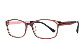眼鏡鏡框-嚴選質感塑鋼眼鏡 6001-C4