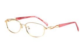 眼镜镜框-严选高质感纯钛眼镜 9013-GO