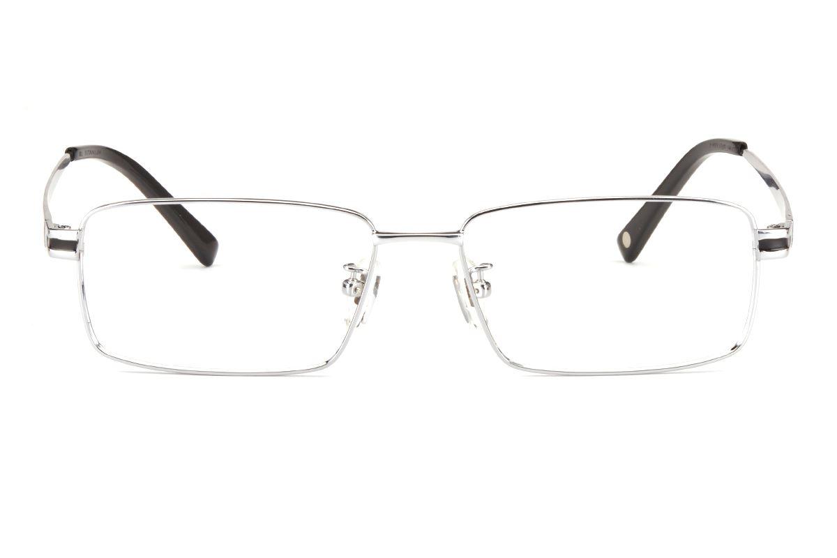嚴選鈦合金眼鏡 FT8323-SI2
