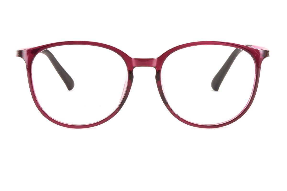 严选塑钢眼镜框 S2214-RE2