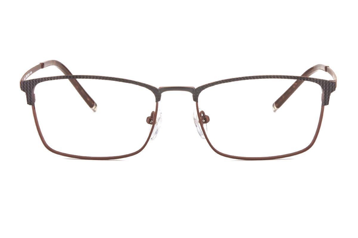 嚴選高質感鈦鏡框 6020-BO3