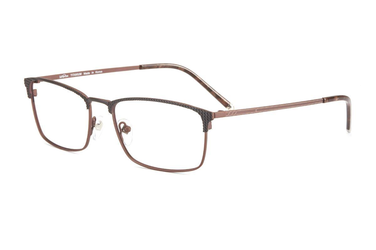 嚴選高質感鈦鏡框 6020-BO1