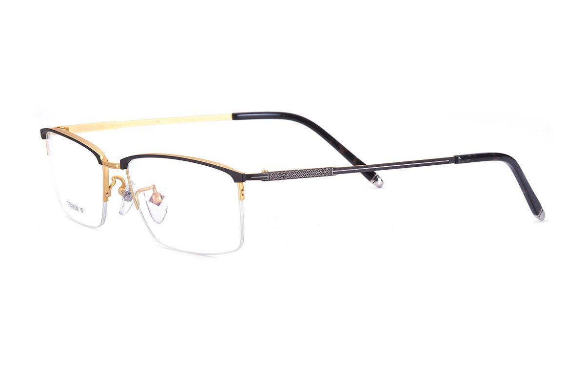 嚴選高質感鈦鏡框 6032-GO1