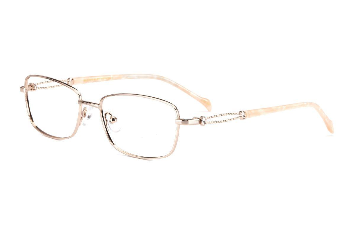 严选高质感钛镜框 FSA8525-GO1