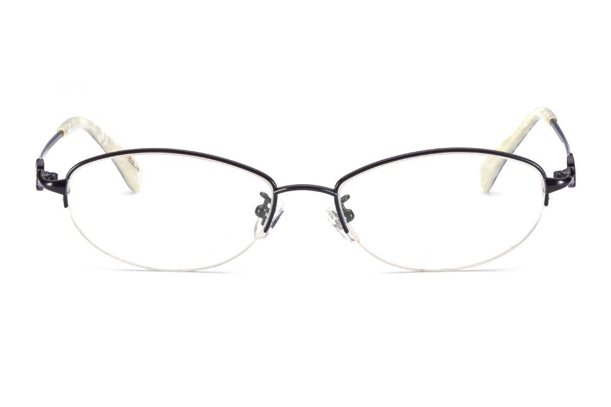 严选高质感钛镜框 WF9070-BA2