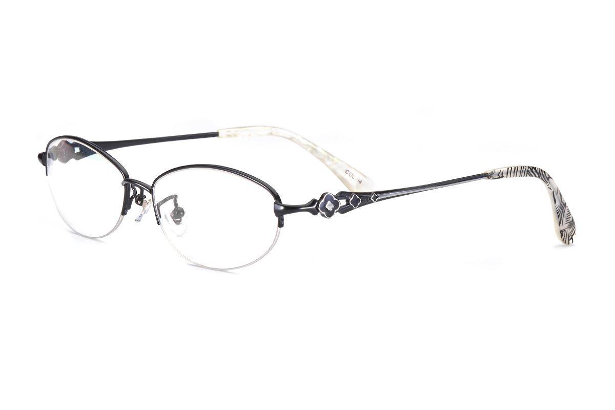 严选高质感钛镜框 WF9070-BA1