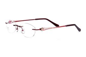 眼鏡鏡框-FG  金屬鏡框 Z6802-RE