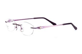 眼鏡鏡框-FG 金屬鏡框 Z6803-PU