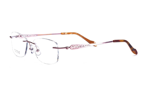 眼镜镜框-严选高质感钛镜框 FGS3678-PU