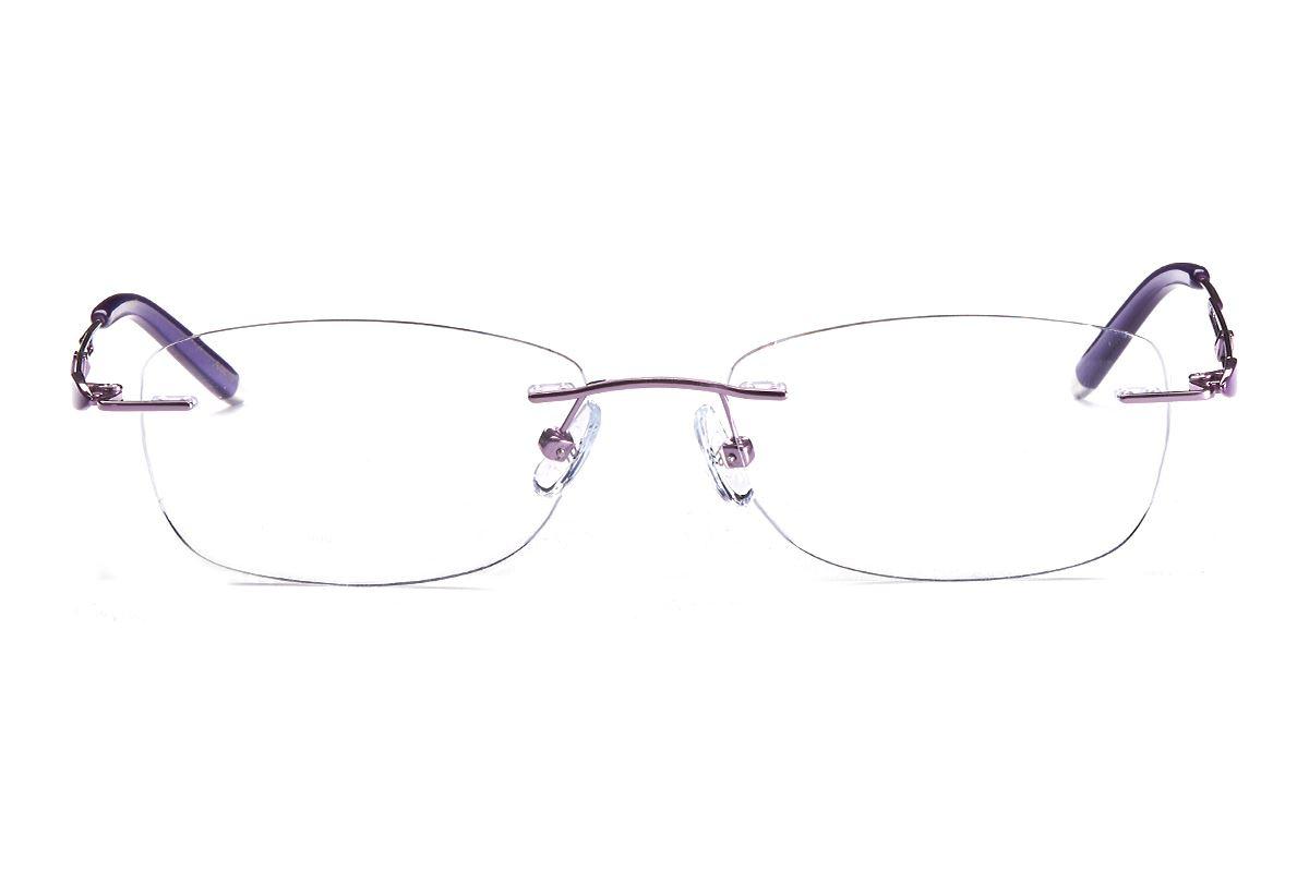 严选高质感钛镜框 FGS8361-PU2