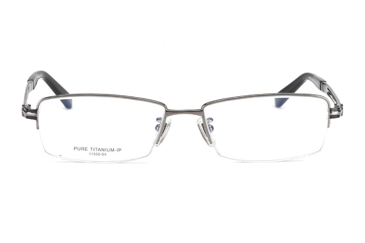 嚴選高質感純鈦眼鏡 11335-GU2