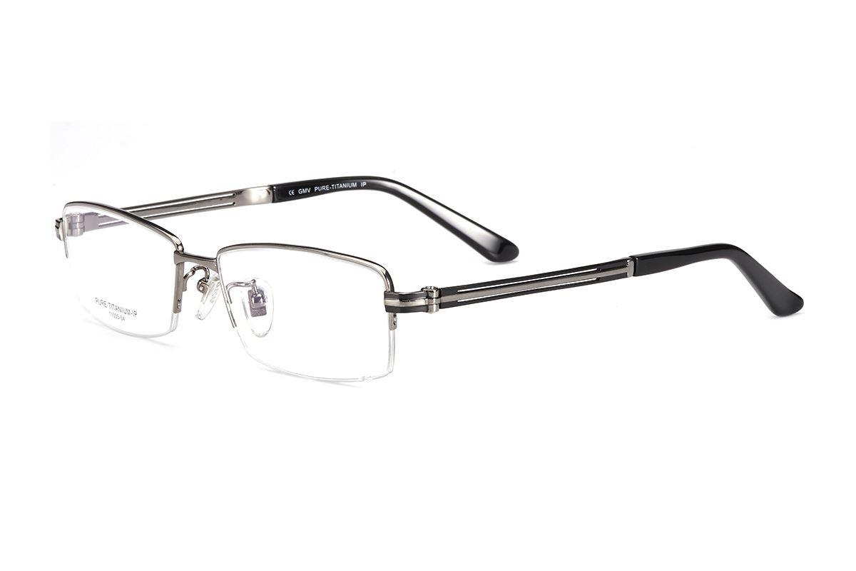 嚴選高質感純鈦眼鏡 11335-GU1