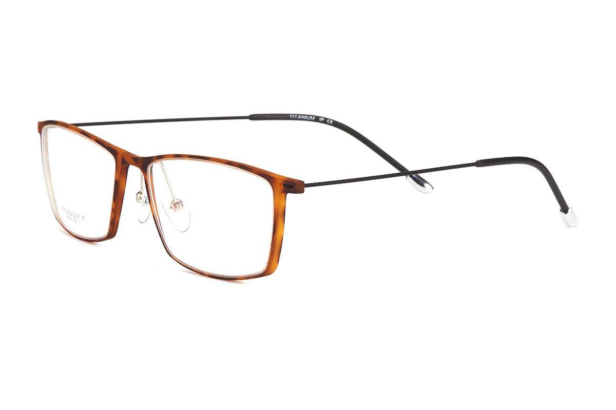 严选高质感钛镜框 6225-AM1