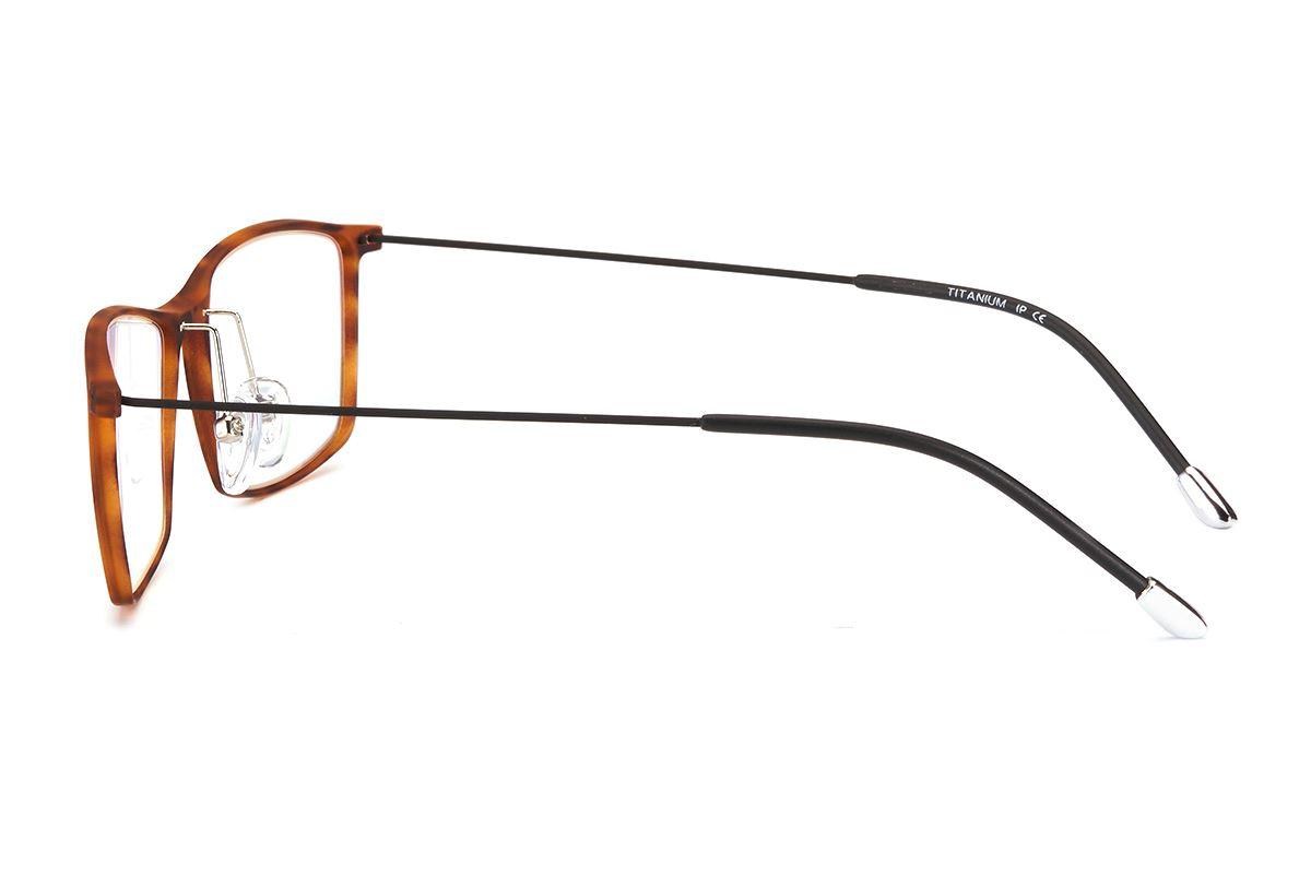 严选高质感钛镜框 6225-AM3