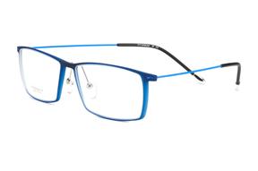 眼鏡鏡框-嚴選高質感鈦鏡框 6220-BU