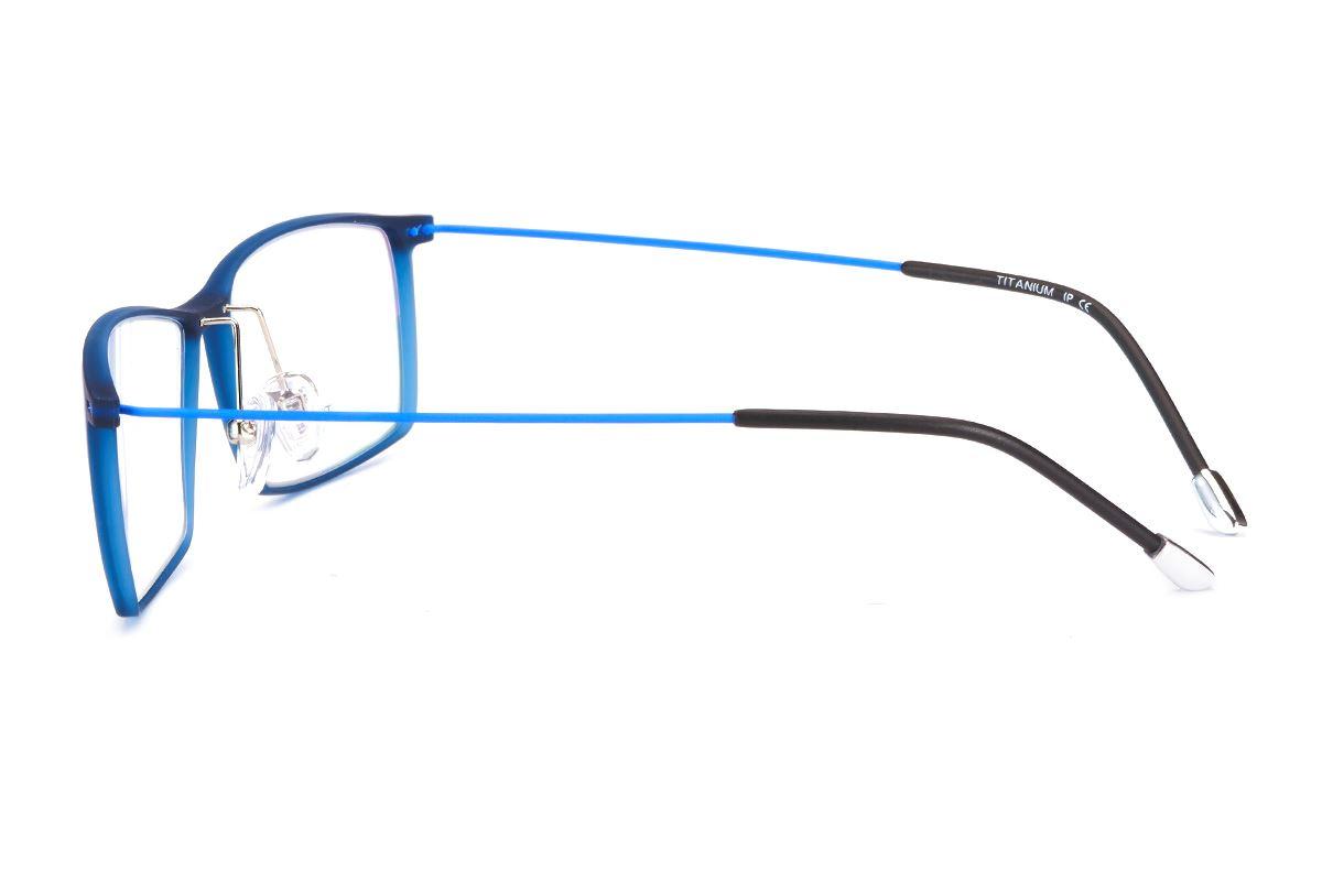 严选高质感钛镜框 6220-BU3
