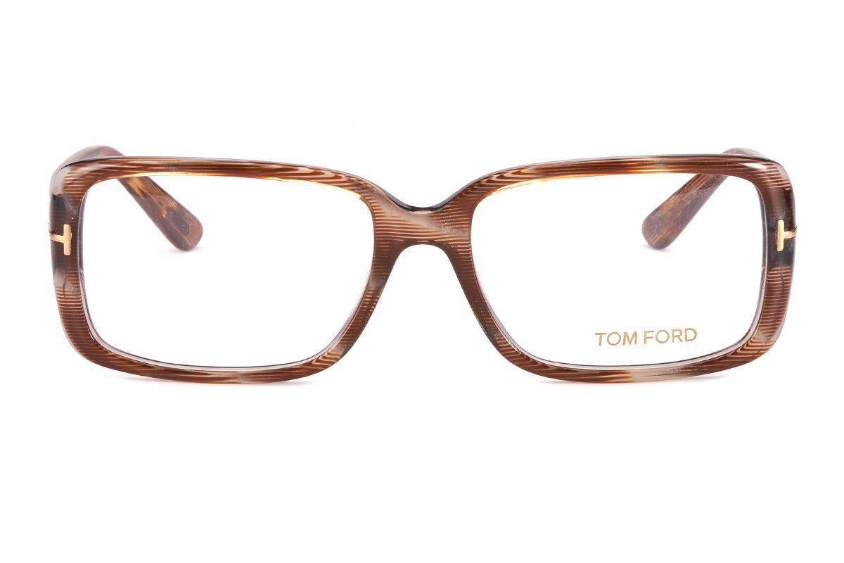 Tom Ford 板料弹簧眼镜TF5187棕-BO2