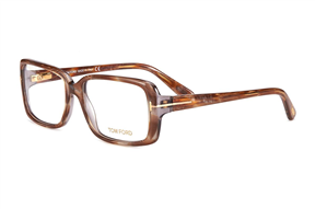 Glasses-Tom Ford 板料彈簧眼鏡TF5187棕-BO