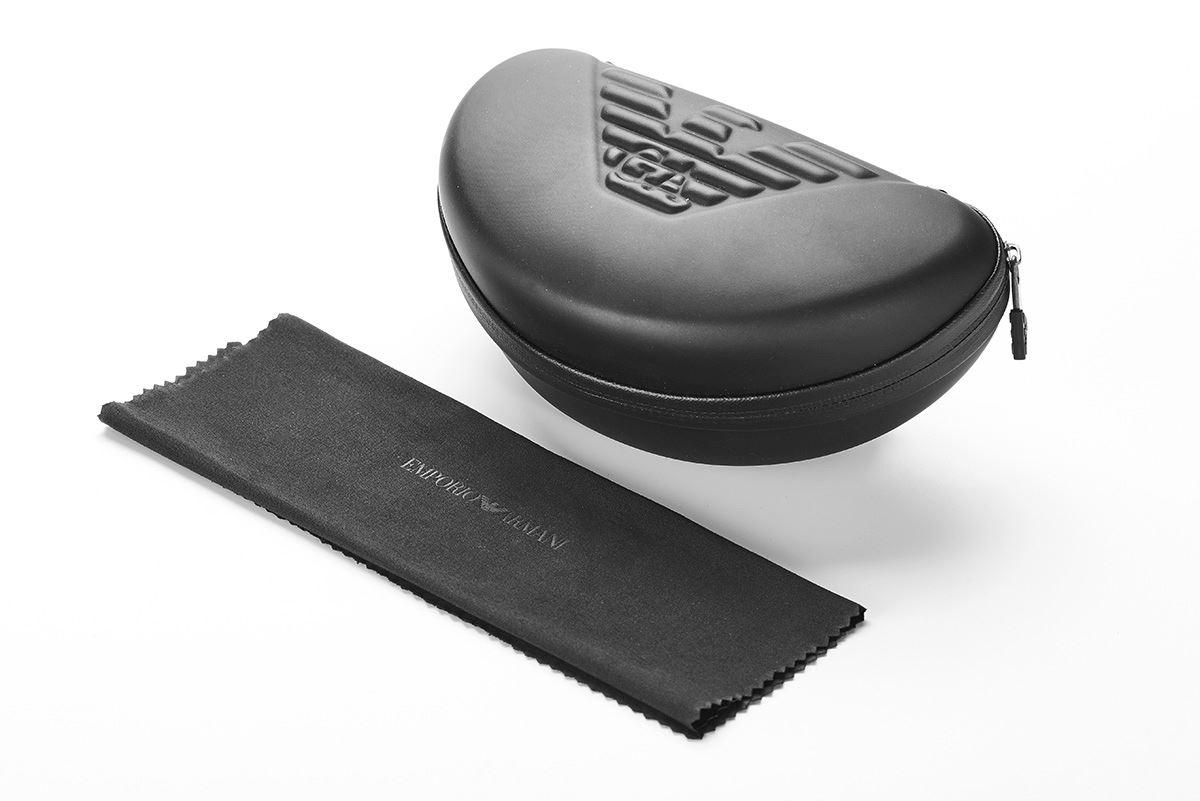 EMPORIO ARMANI 高質感金屬框(EA9599黑)4