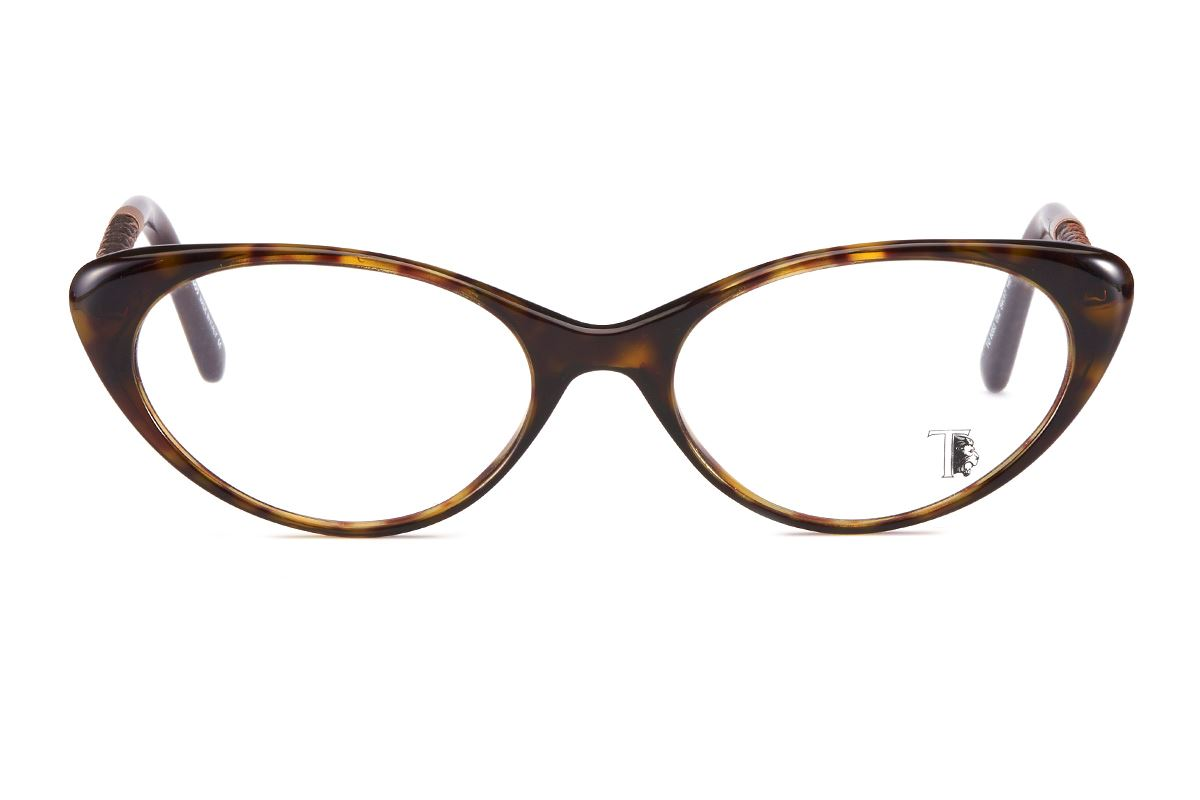 Tod's  高質感貓眼眼鏡 TO5053-AM2