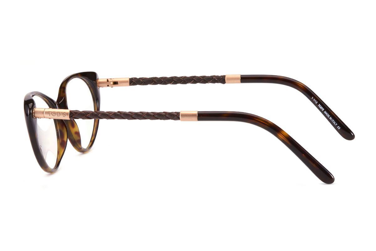 Tod's  高質感貓眼眼鏡 TO5053-AM3