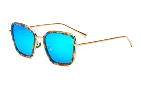 太陽眼鏡-嚴選偏光水銀墨鏡 12216-GE