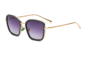 太陽眼鏡-嚴選偏光漸層墨鏡 12216-BA
