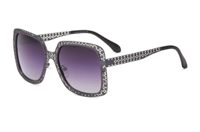 太陽眼鏡-時尚縷空偏光太陽眼鏡 WLH400-BA