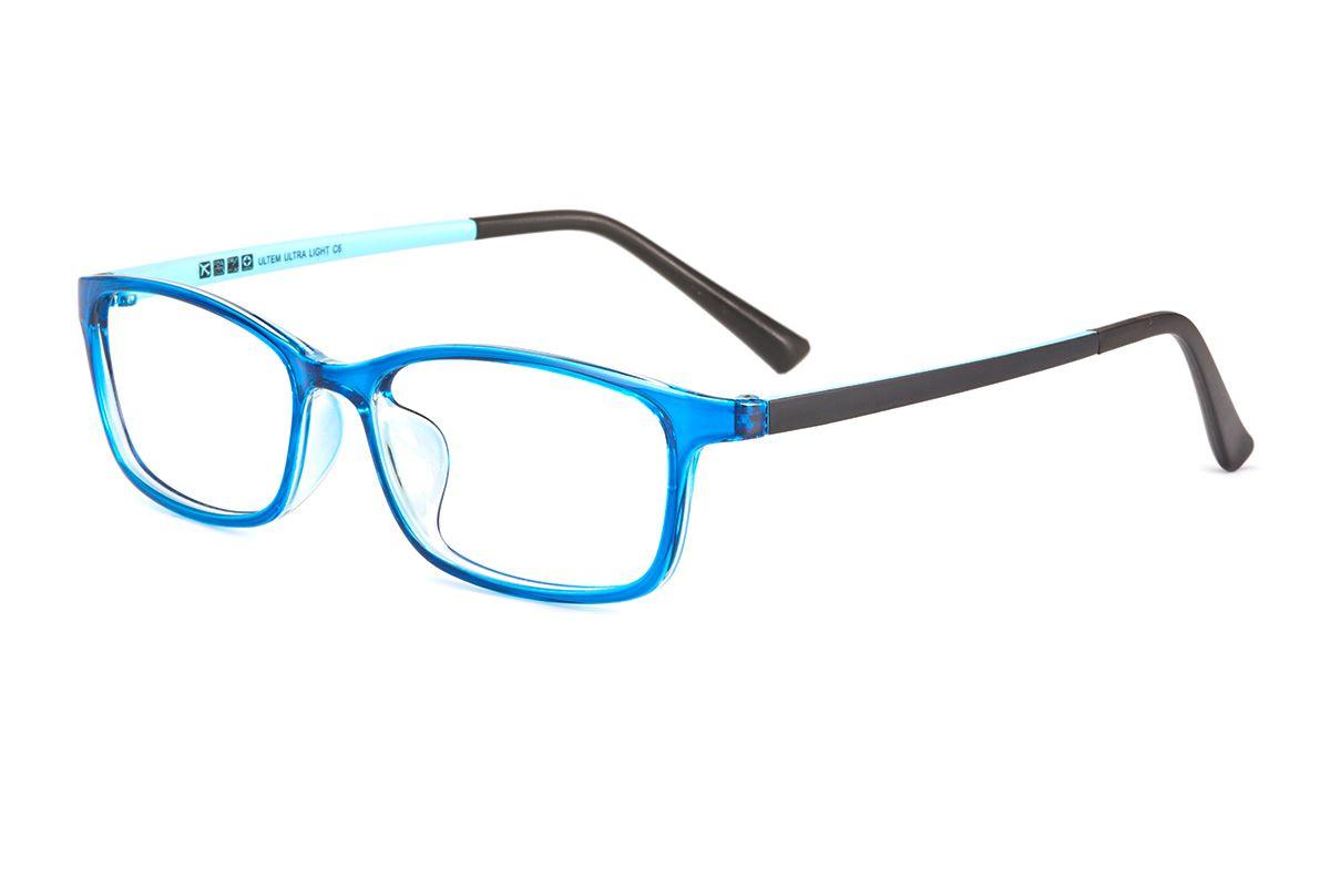 严选塑钢眼镜框 S2231-BU1