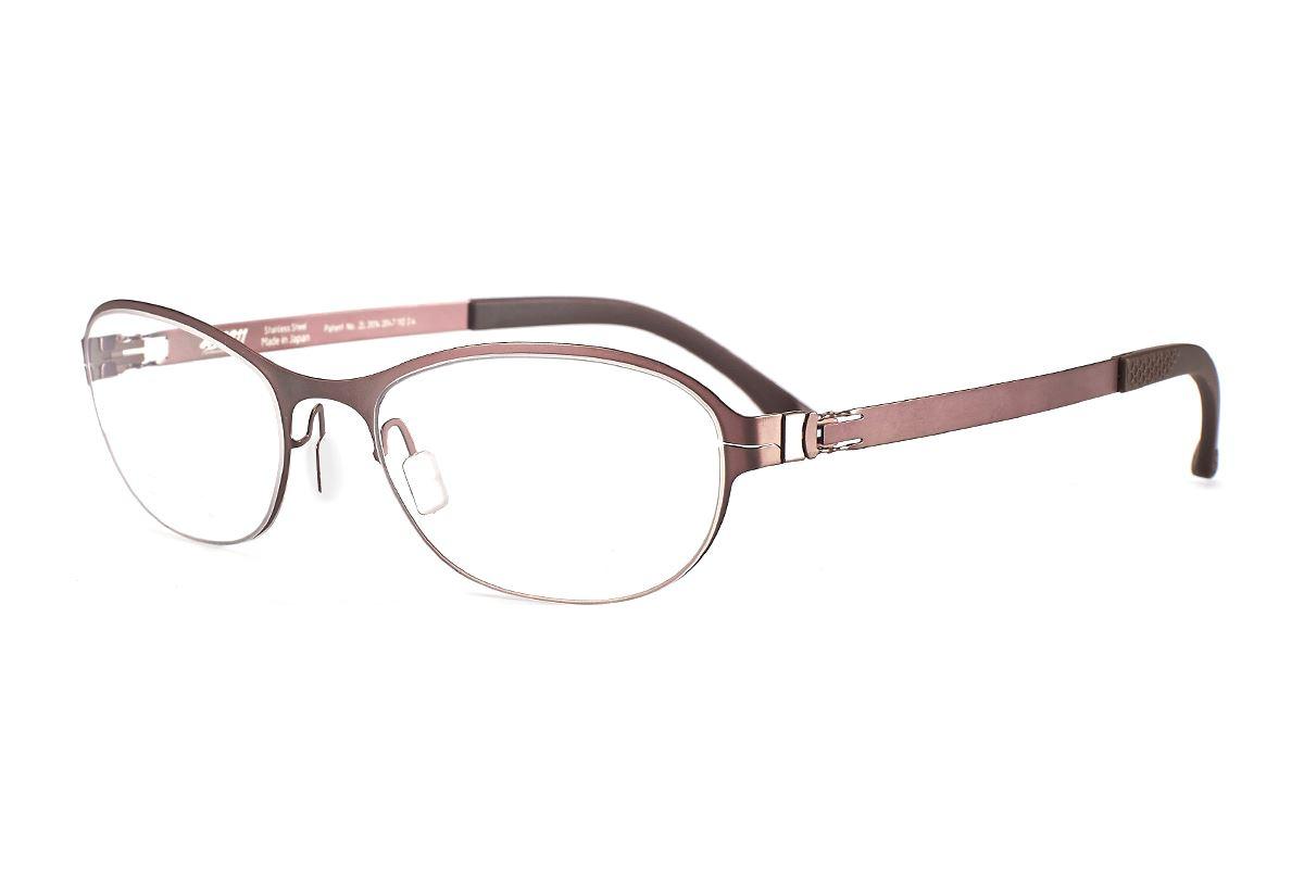 严选日制薄刚眼镜 FXS2-1508-BO1
